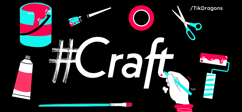 tiktok for crafters