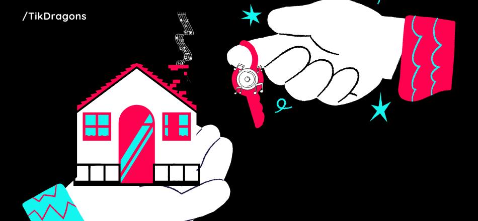 real estate businesses on tiktok